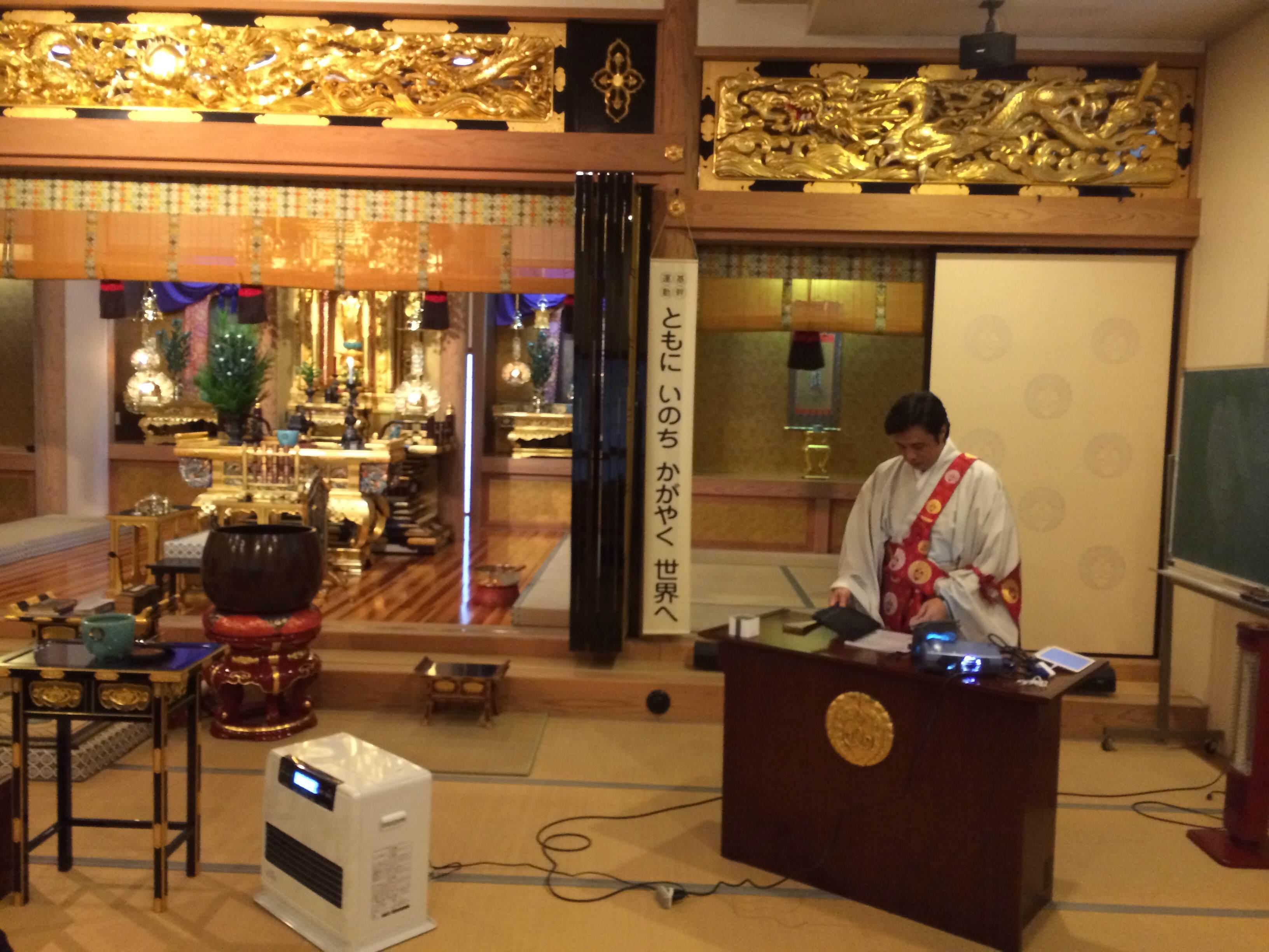 アソカ寺参拝