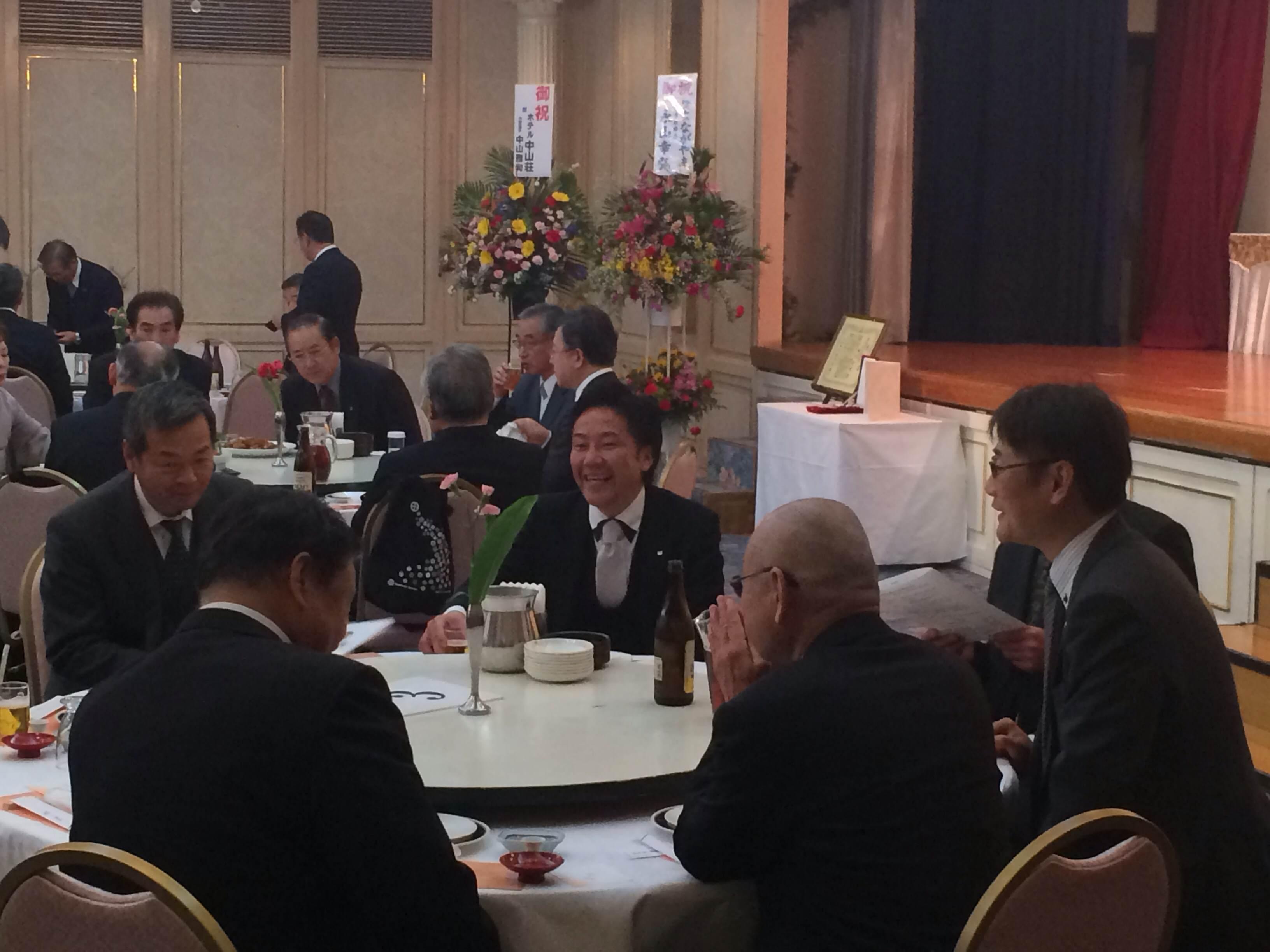 田代義博氏都城文化賞受賞祝賀会